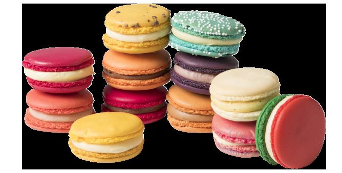 Macarons van Pinky: kleurrijk en glutenvrij